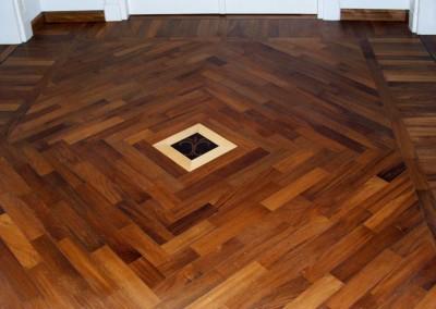 Geometrie e disegni parquet in legno