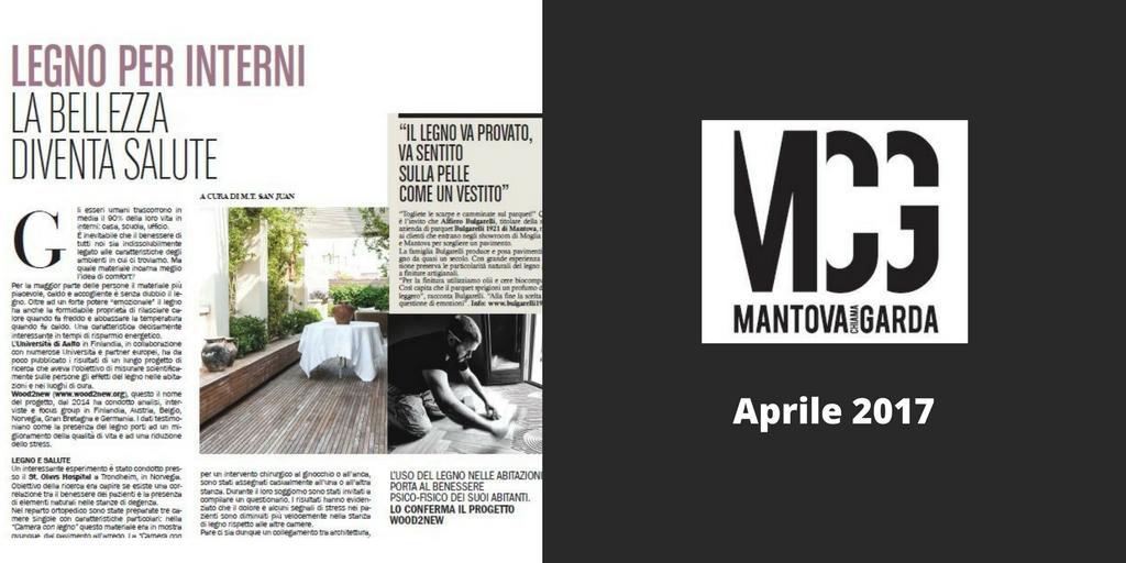 Legno per interni, Bulgarelli su Mantova Chiama Garda