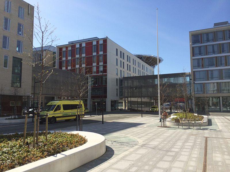 St. Olavs Hospital | Credit: Apple Famer on Wikimedia
