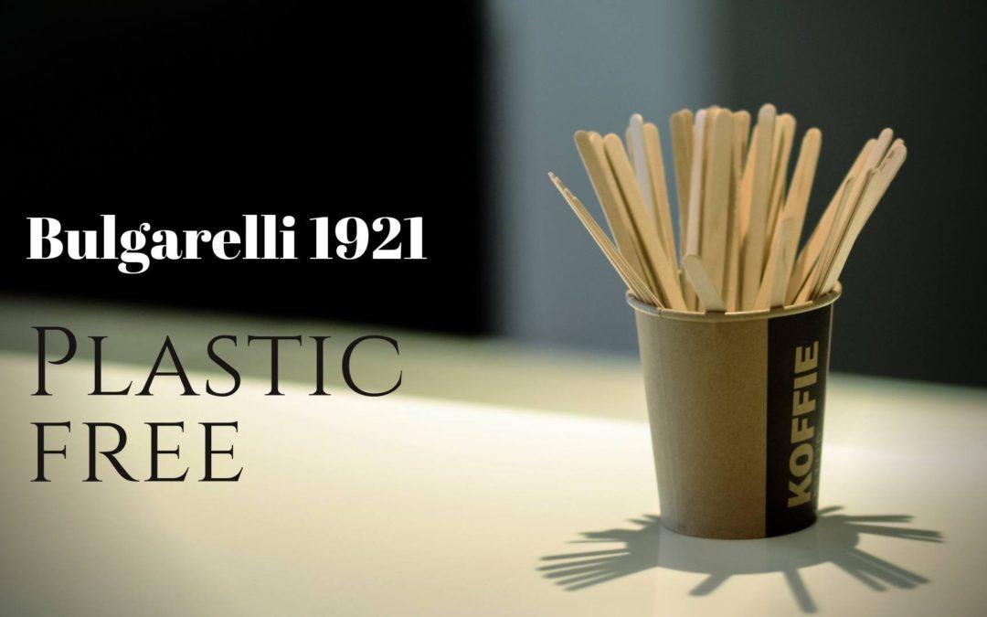 """Bulgarelli 1921 verso il """"Plastic free"""""""